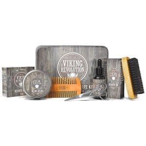 1. Viking Revolution Beard Kit for Men