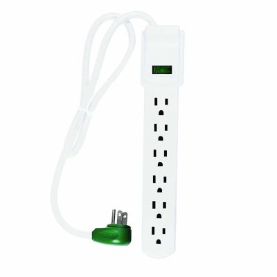GoGreen Power Six Outlet GG-16103MS Surge Protector