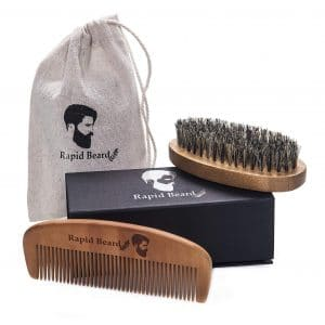 4. Rapid Beard Brush & Beard Comb kit