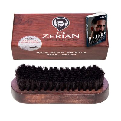Beard Brush from the Zerian with Boar Bristle
