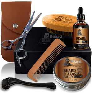 5. THE BEARD LEGACY Trimming Kit, Beard Growth Gift