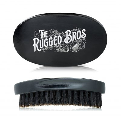 Rugged Bros Beard Brush for Men by The Rugged Bros