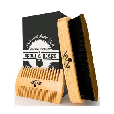 Beard Brush and Combo Set for Men