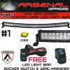 "50"" RAZIR PRO Series Curved LED Light Bar"
