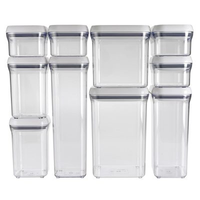 OXO Goods Grips 10-Piece Airtights Food Storage
