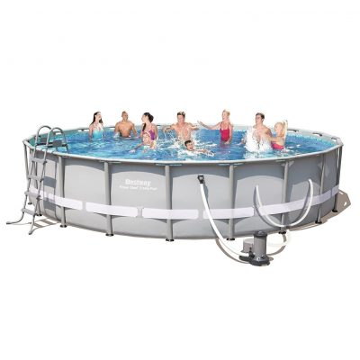 "56388E Power Steel 20' by 48"" Frame Pool Set, from Bestway"