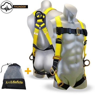 KwikSafety Thunder 3D Deluxe Protection Safety Harness