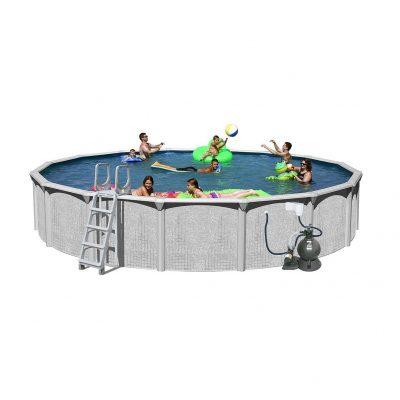 Splash Pools Round Package Above Ground Pool