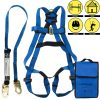 Spidergard Single D-Ring Full Body Safety Harness