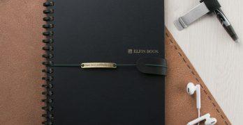 Elfinbook Smart Wirebound Notebook