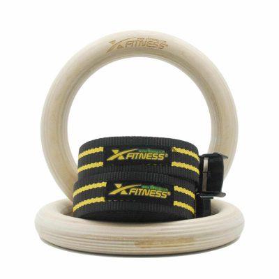 xFitness Wood Gymnastic Rings