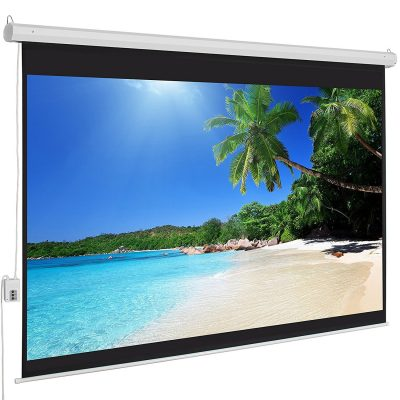 Best Choice Products high definition Motorized Projection Screens