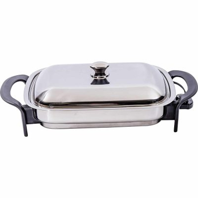 Precise Heat 16-Inch Electric Skillet