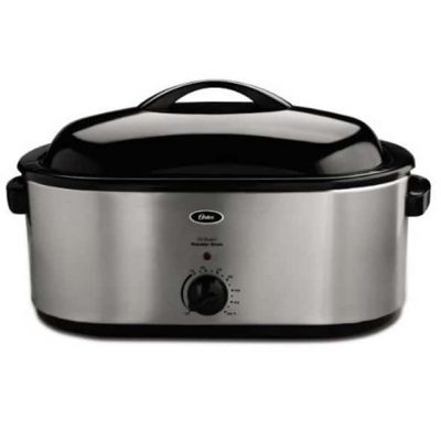 Rival RO180 18-Quart Roaster Oven Kitchen & Dining White