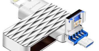 SUNTRSI iPhone iPad USB Flash Drive
