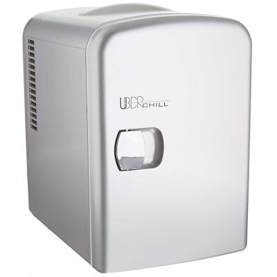 UB-CH1 Uber Chill portable Mini Fridge 6-can Thermoelectric Warmer & Cooler mini fridge for dorm, office or bedroom from Uber Appliance