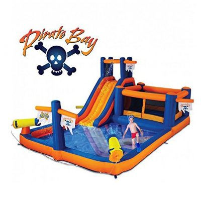 Blast Zone Pirate Inflatable Combo