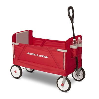Radio Flyer 3-in-1 Collapsible Wagon