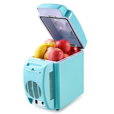 Housmile Thermo – Electric Portable Mini Fridge DC/ AC Warmer and Cooler Car Refrigerator 12 Can/7 Liter