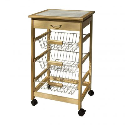 Organize It All Microwave Cart