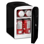Magnasonic Portable 4L Capacity Mini Fridge Fully Insulated Cooler & Warmer,