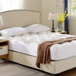 Cheer Collection Bamboo Fitted Mattress Topper