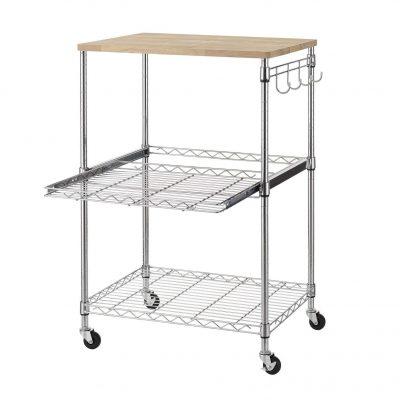 Finnhomy 3-Tier Microwave Cart