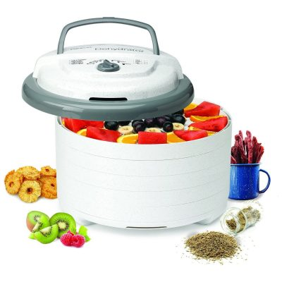 Nesco Snackmaster Pro Food Dehydrator, FD-75A
