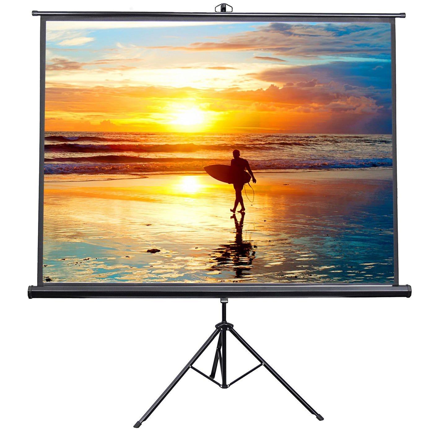 VIVO 100 inches Portable Outdoor Indoor Projector Screen