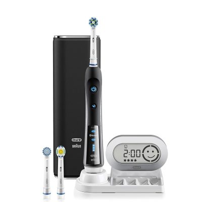 Oral B 7,000 SmartSeries Electric Toothbrush Cleans