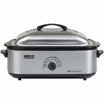 Nesco 481825 Professional Stainless Steel Roaster Oven