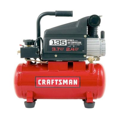 .Craftsman 3-Gallon 135-psi Oiled Portable Air Compressor