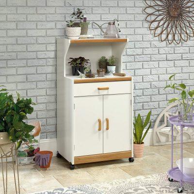 Sauder Microwave Cart