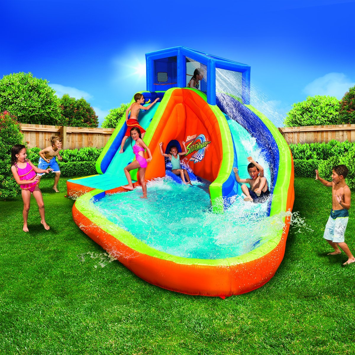 Top10 Best Inflatable Water Slides In 2019 Reviews