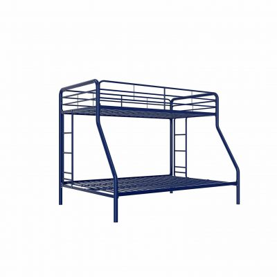 DHP Twin-Over-Full Bunk Bed with Ladder