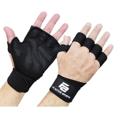 Fit Active Sports New Ventilated Weightlifting Gloves