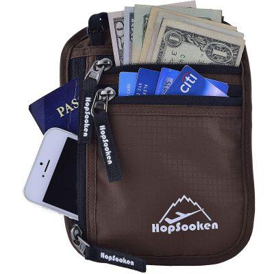 HOPSOOKEN Neck Wallet