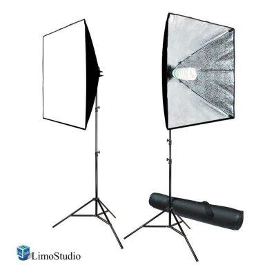 LimoStudio 700W Photography Softbox Lighting Kit