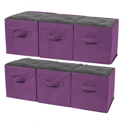 Greenco Foldable Storage Cubes, 6-Pack