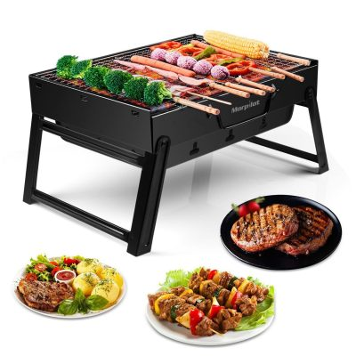 Morpilot Barbecue Portable BBQ Charcoal Grill