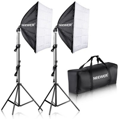 Neewer Professional Photography Softbox Lighting Kit