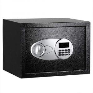 2. AmazonBasics Security Safe Box, Black - 25EI