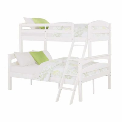 Dorel Living Brady Twin Over Full Solid Wood Bunk Bed