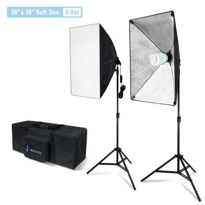 Julius Studio Soft Box 800 Watt Lighting Kit