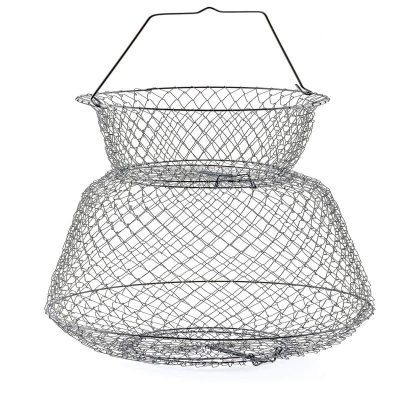 South Bend Round Wire Fish Basket 19 x 30-inches