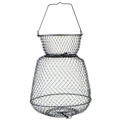 Eagle Claw Wire Fish Basket, Black