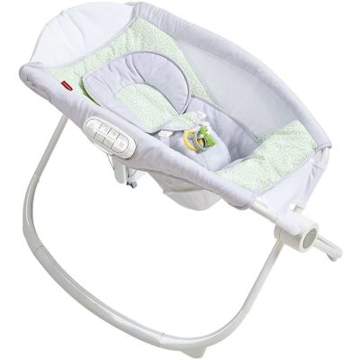 Fisher-Price Auto Rock 'n' Play Sleeper, floral confetti