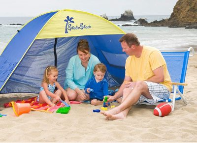Demco Shade Shack Instant Pop Up Beach Tent