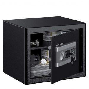 4. SLYPNOS Electronic Digital Safe Box (1.0 Cubic Feet)