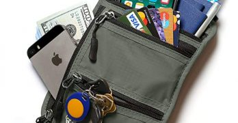 AleM Neck Wallet